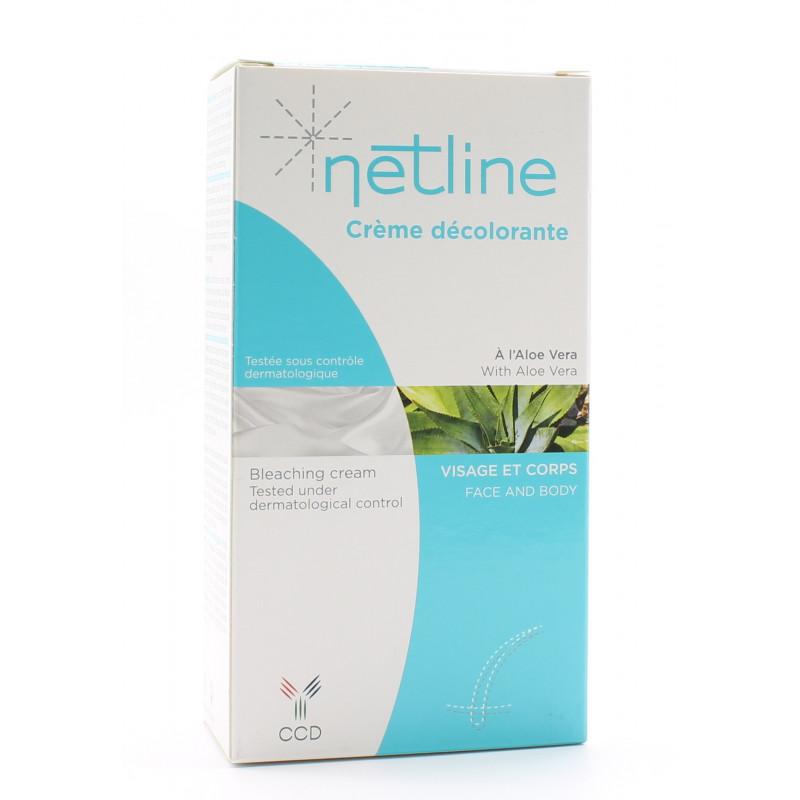 Netline Crème Décolorante Visage et Corps 40ml+20ml - Univers Pharmacie