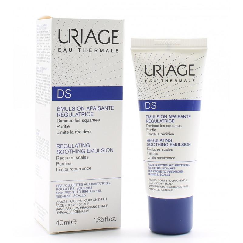 Uriage DS Emulsion Apaisante Régulatrice 40ml - Univers Pharmacie