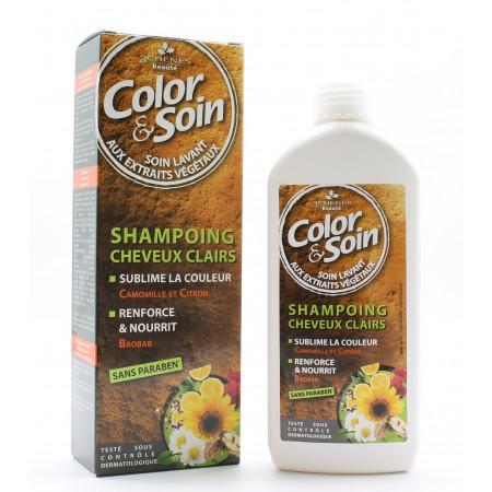 Les 3 Chênes Color&Soin Shampooing Cheveux Clairs 250ml