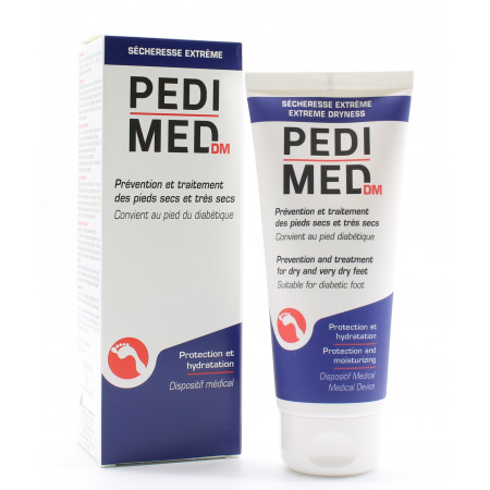 Pedimed Crème Pieds Sécheresse Extrême 100ml - Univers Pharmacie