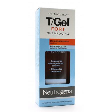 Neutrogena T/Gel Fort Shampooing Démangeaisons Sévères 250ml - Univers Pharmacie
