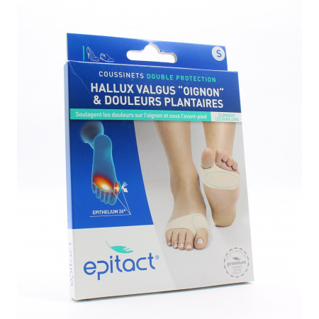 Epitact Coussinets Double Protection Taille S X2 - Univers Pharmacie