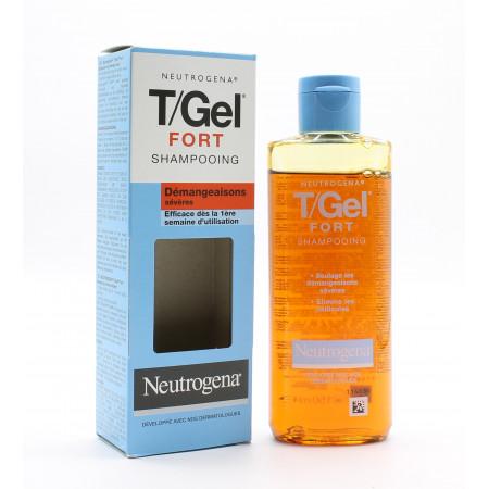 Neutrogena T/Gel Fort Shampooing Démangeaisons Sévères 125ml - Univers Pharmacie