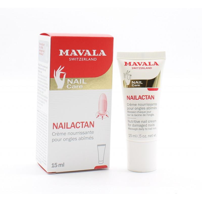 Mavala Nailactan Crème Nourrissante Ongles Abîmés 15ml - Univers Pharmacie
