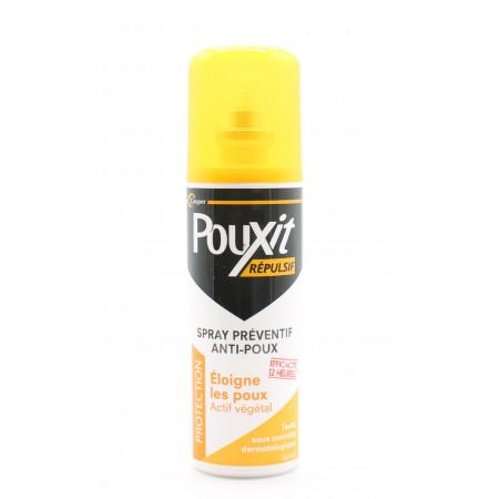 Pouxit Répulsif Spray Préventif Anti-Poux 75ml - Univers Pharmacie
