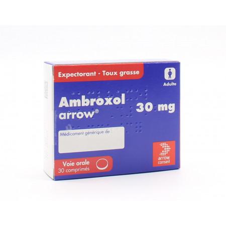 Ambroxol Arrow 30mg 30 comprimés - Univers Pharmacie