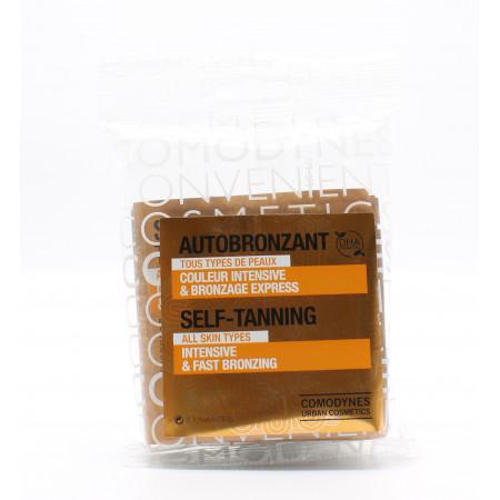 Comodynes Lingettes Autobronzantes Couleur Intensive x8 - Univers Pharmacie