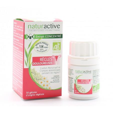 Naturactive Règles Douloureuses Bio 30 gélules - Univers Pharmacie