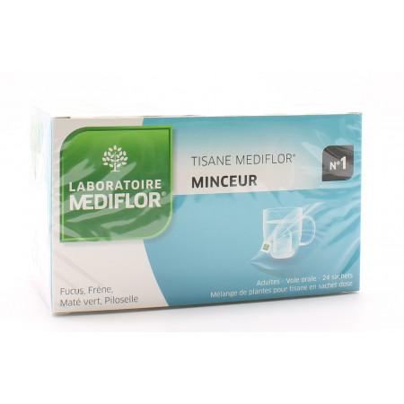 Mediflor Tisane n°1 Minceur 24 sachets - Univers Pharmacie