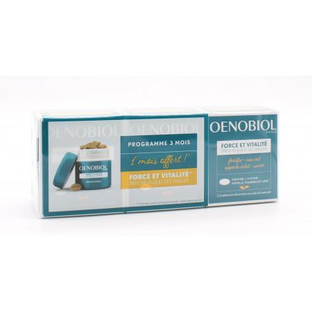 Oenobiol Force et Vitalité Cheveux Ongles 3X60 comprimés - Univers Pharmacie