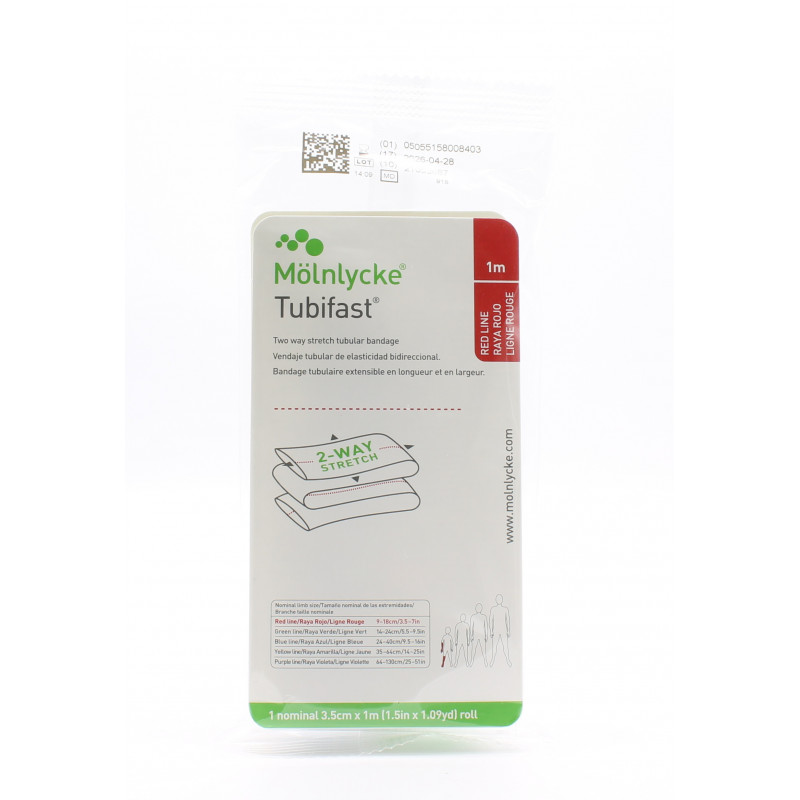 Mölnlycke Tubifast 3,5cmX1m - Univers Pharmacie