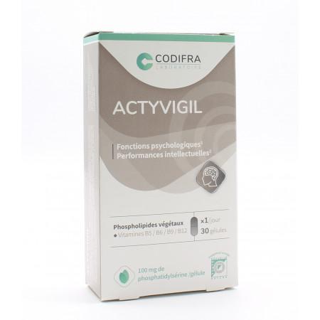 Codifra Actyvigil 30 gélules - Univers Pharmacie