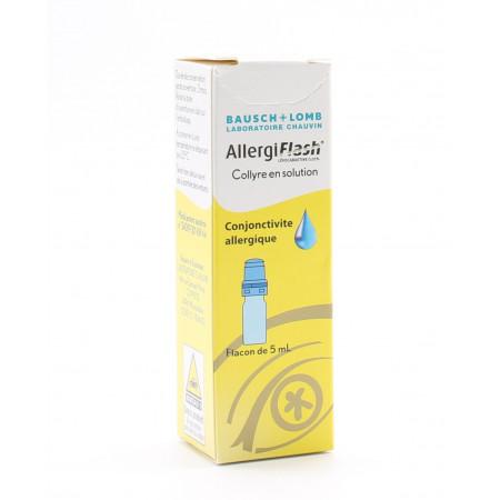 AllergiFlash Collyre en Solution 5ml - Univers Pharmacie
