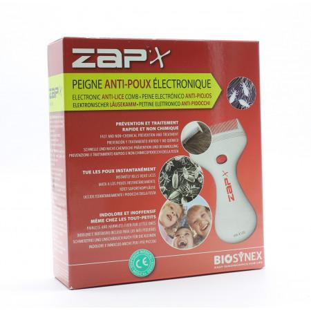 Zap'x Peigne Anti-poux Electronique - Univers Pharmacie