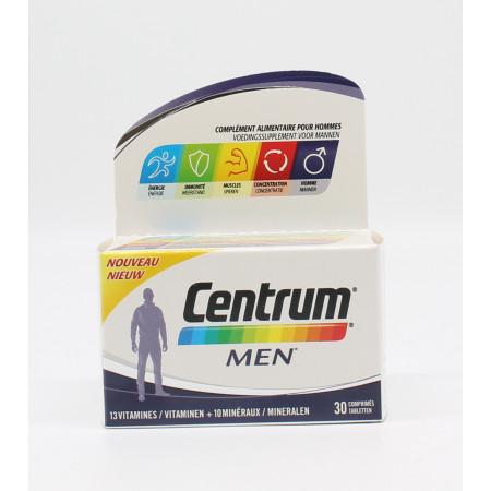 Centrum Men 30 comprimés - Univers Pharmacie