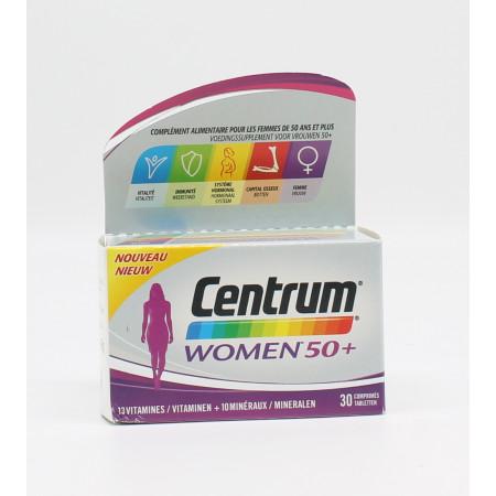 Centrum Women 50+ 30 comprimés - Univers Pharmacie
