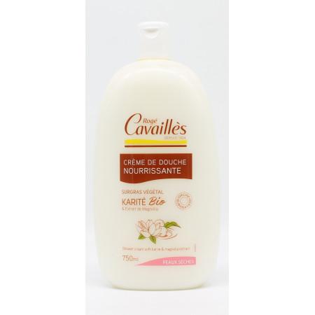 Rogé Cavaillès Crème de Douche Nourrissante Karité Bio & Magnolia 750ml - Univers Pharmacie