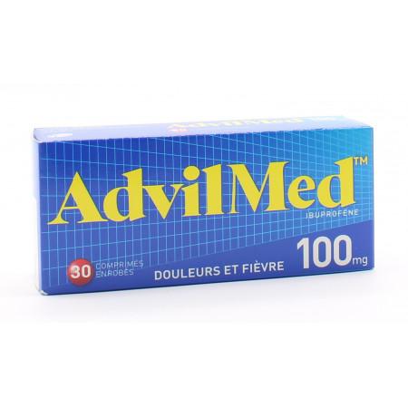 AdvilMed 100mg 30 comprimés - Univers Pharmacie