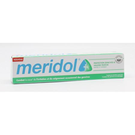 Meridol Dentifrice Protection Gencives & Haleine Fraîche 75ml - Univers Pharmacie