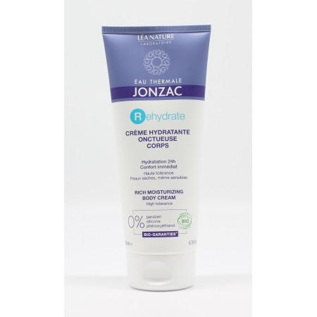 Jonzac Rehydrate Crème Hydratante Onctueuse Bio 200ml - Univers Pharmacie
