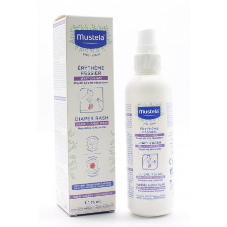 Mustela Spray Change Erythème Fessier 75ml - Univers Pharmacie