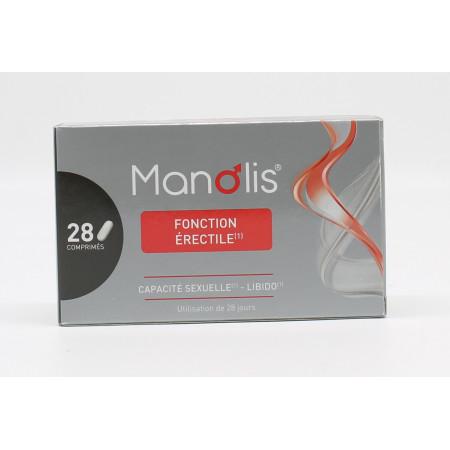 Manolis Fonction Érectile 28 comprimés - Univers Pharmacie