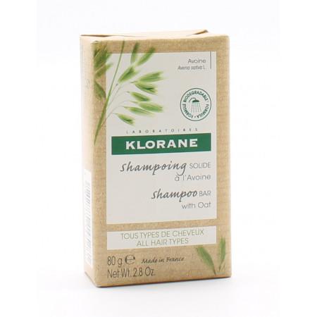 Klorane Shampoing Solide à l'Avoine 80g - Univers Pharmacie