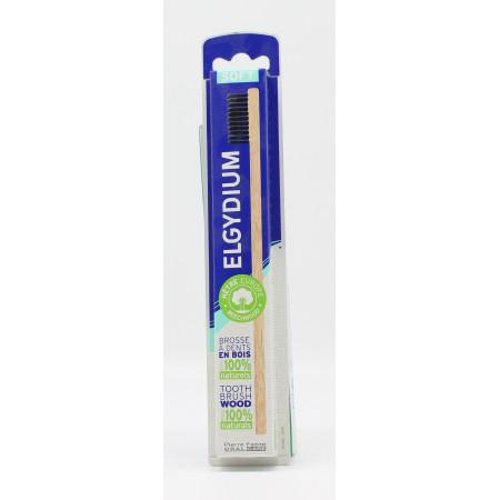 Elgydium Brosse à Dents en Bois Soft - Univers Pharmacie