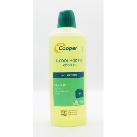 Cooper Alcool Modifiée 500ml - Univers Pharmacie