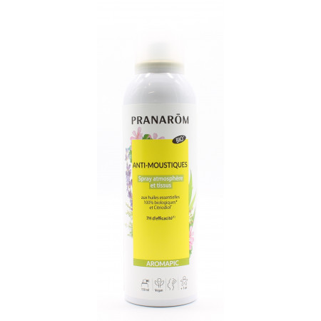 Pranarôm Aromapic Bio Spray Anti-moustiques 150ml - Univers Pharmacie
