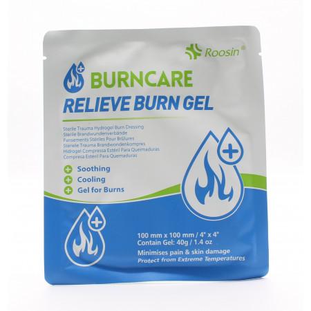 Burncare Relieve Burn Gel 10X10cm - Univers Pharmacie