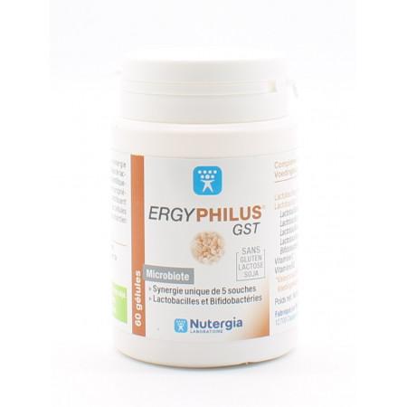 Nutergia ErgyPhilus GST 60 gélules - Univers Pharmacie