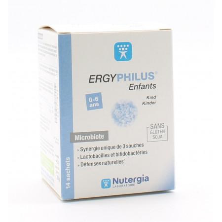 Nutergia ErgyPhilus Enfants 0-6 ans 14 sachets - Univers Pharmacie