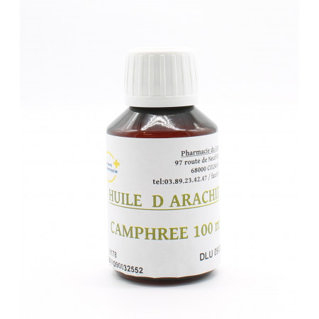 Univers Pharmacie Huile d'Arachide Camphrée 100ml