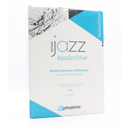 Ophtalmic Jazz AquaSenSitive 3X350ml - Univers Pharmacie