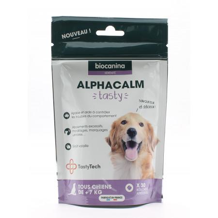 Biocanina Alphacalm Tasty Chien 30 bouchées - Univers Pharmacie