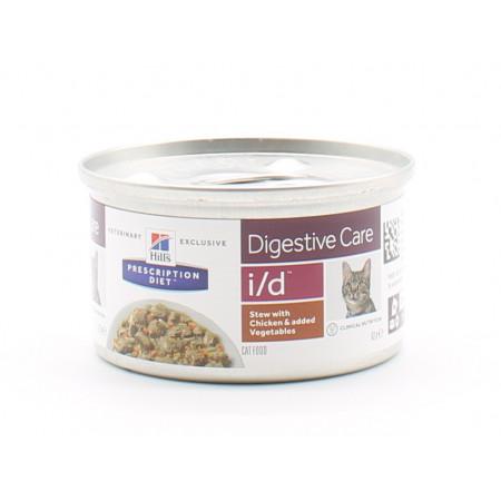 Hill's Prescription Diet Digestive Care Pâté Poulet I/D 82g - Univers Pharmacie