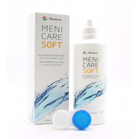 Menicon MeniCare Soft Solution Multifonctions 360ml - Univers Pharmacie