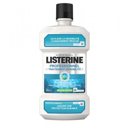 Listerine Traitement Sensibilité Bain de Bouche 500ml - Univers Pharmacie