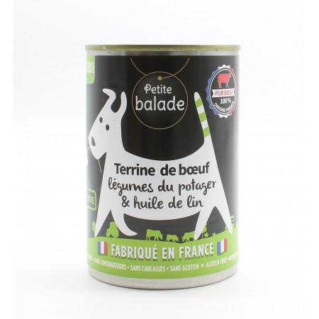 Petite Balade Terrine de Bœuf 400g - Univers Pharmacie