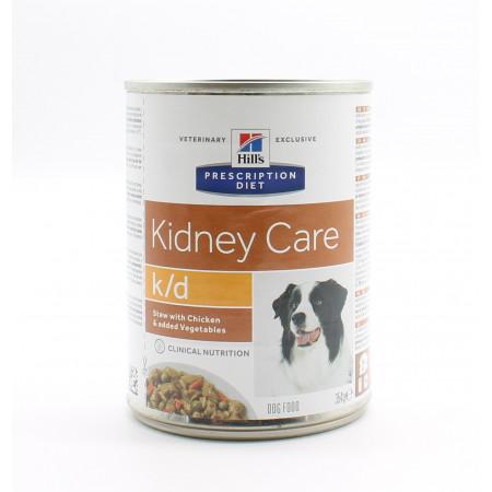 Hill's Prescription Diet Kidney Care kd Poulet 354g - Univers Pharmacie