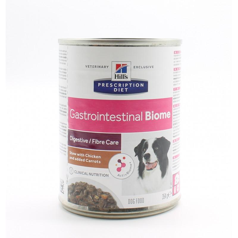 Hill's Prescription Diet Gastrointestinal Biome Digestive-Fibre Care Poulet 354g - Univers Pharmacie