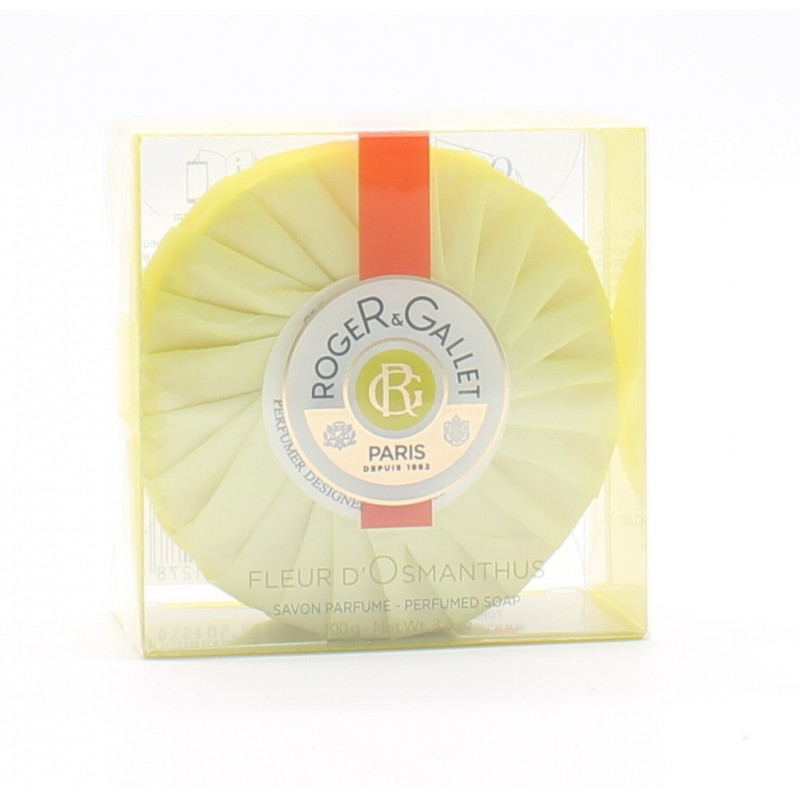 Roger Gallet Savon Parfumé Fleur d'Osmanthus 100g - Univers Pharmacie