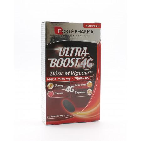 Forté Pharma Ultra Boost 4G Désir et Vigueur 30 comprimés - Univers Pharmacie
