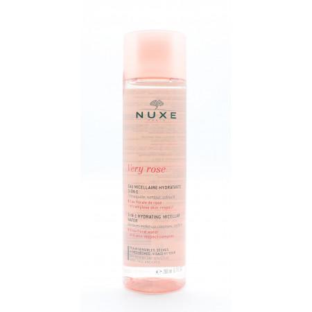 Nuxe Very Rose Eau Micellaire Hydratante 3en1 200ml