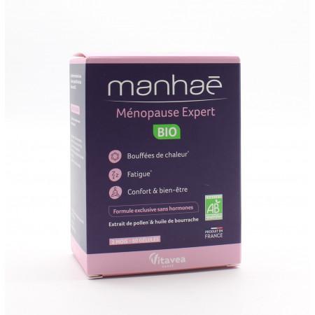 Manhaé Ménopause Expert Bio 60 gélules - Univers Pharmacie