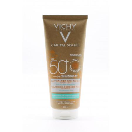 Vichy Capital Soleil 50SPF+ Lait Solaire Eco-conçu 200ml - Univers Pharmacie