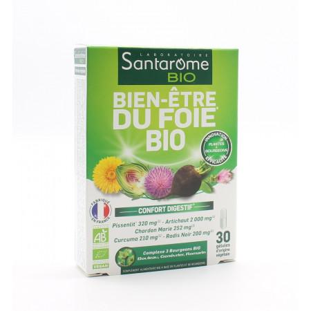 Santarôme Bio Bien-être du Foie Bio 30 gélules - Univers Pharmacie