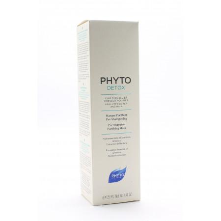 Phyto Detox Masque Purifiant Pré-Shampooing 125ml - Univers Pharmacie