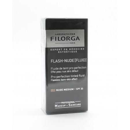 Filorga Flash-Nude Fluid 1.5 Nude Medium SPF30 30ml - Univers Pharmacie